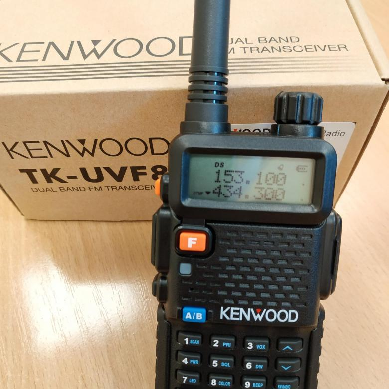 Kenwood TK-UVF8 Dual Band