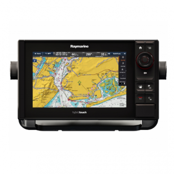 "Raymarine eS97 9"" HybridTouch Multifunction Display with Built in Fishfinder and Wi-Fi, No Chart"