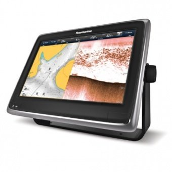 "Raymarine a128 12"" Multifunctional Display with Built-in DownVision Fishfinder and Wi-Fi, No chart"