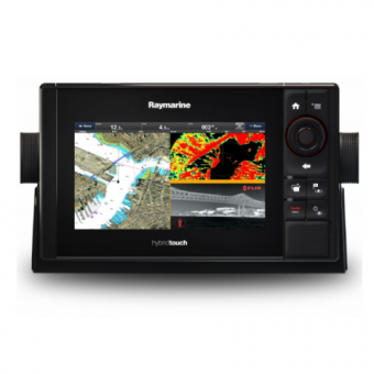 "Raymarine eS78 7"" HybridTouch Multifunction Display with Built in DownVision Sonar and Wi-Fi"