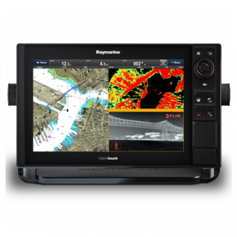 "Raymarine eS128 12.1"" HybridTouch Multifunction Display with Built in DownVision Sonar and Wi-Fi, No Chart"